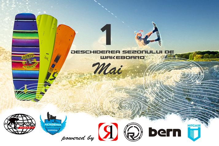 Deschiderea sezonului de wakeboard 2015